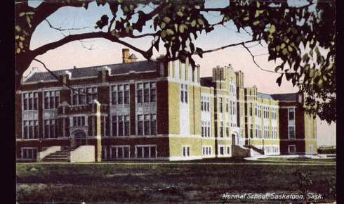 Normal School, Saskatoon, Sask.. Montreal: Novelty Mfg. & Art Co., Ltd. Montreal, Novelty Mfg. & Art Co., Ltd (Publisher) .  c1939.