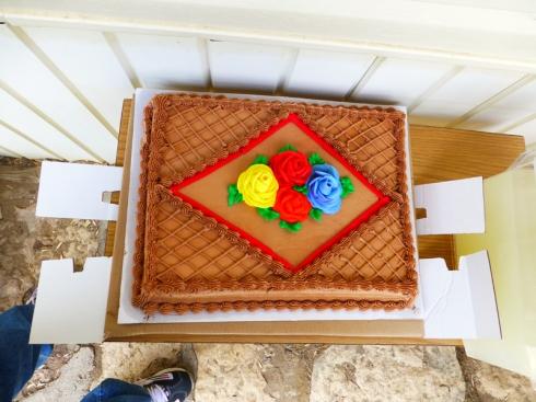 Smith Stevenson Road Naming Celebration Cake